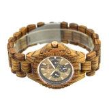 OEM 일본 운동을%s 가진 최신 판매 손목 석영 나무로 되는 시계