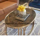 Tavolino da salotto dorato del campione libero del campione