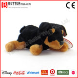 Cão macio Lifelike de Rottweiler do animal enchido do filhote de cachorro do luxuoso do brinquedo En71