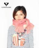 Sciarpa del Knit di stirata del Soft Acrylic Double Face della signora