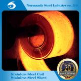 Suministro de Molino de laminado en caliente 304/430/409 bobinas de acero inoxidable
