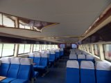 Hq2000b barco de pasajeros de fibra de vidrio de acero de 88 personas