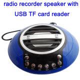 Draagbare Digitale RadioOpname met de Aanvulling van de Groef van de Steun USB BR van de Batterij