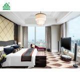 Salone della mobilia della camera da letto di legno solido della serie di hotel della stella della Doubai cinque