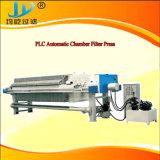 Prensa de filtro para la pirita de hierro con el dispositivo que se lava del paño automático
