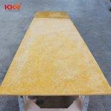 Folha de superfície contínua acrílica material de Corian da decoração