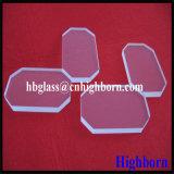 Dischi polacchi di vetro di quarzo fuso del quadrato del taglio del bobinatoio a cono del fuoco