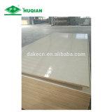 Surface UV imperméable de contreplaqué de peuplier de contreplaqué commercial