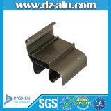 粉のコーティングの青銅またはブラウンガーナアフリカアルミニウムプロフィール