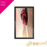 65 Zoll-an der Wand befestigter bekanntmachender Bildschirmanzeige-Netz LCD-Bildschirm
