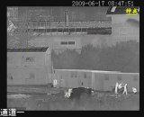 Camera van de Thermische Weergave van de Defensie van de grens de Ongekoelde