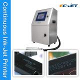Machine d'impression continue de datte de produit d'imprimante à jet d'encre de maintenance facile (EC-JET1000)
