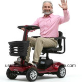 24V grosser Sitzelektrischer Mobilitäts-Paar-vierradangetriebenroller der Größen-2