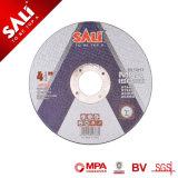 Saliの高品質のきっかり極度の薄い樹脂の担保付きの切断ディスク