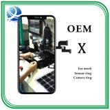 Affissione a cristalli liquidi originale del telefono mobile dello schermo a colori dell'OEM per il iPhone X