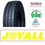 12r22.5 Joyall 상표 드라이브 트레일러 수송아지 트럭 타이어 바퀴