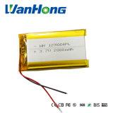 de Batterij van het Polymeer van 123664pl3.7V 2800mAh Li voor de Camera van de Navigatie PDA