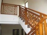 高水準Structionの適当な費用のステンレス鋼の木のステアケース中国製
