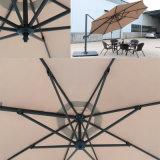 Малый римский зонтик с зонтиком Tg-003 сада функции сени вращая