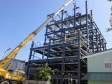 Grande magazzino della struttura d'acciaio della tettoia della costruzione prefabbricata industriale di disegno