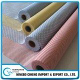 Tela no tejida de la vinculación química del animal doméstico para interlinear no tejido bordado