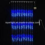 Luzes de Cachoeira do LED digital decorações exteriores para o grande edifício