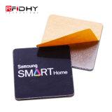 Escritura de la etiqueta elegante vendedora caliente de la etiqueta NFC de la proximidad 13.56MHz RFID