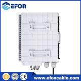 12 cadre /Caja Fibra Optica 12 Hilos de fibre optique de support de Pôle de 8 faisceaux