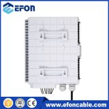 12 rectángulo óptico /Caja Fibra Optica 12 Hilos de fibra del montaje de poste de 8 bases