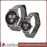 Commerce de gros de la mode montre-bracelet Quartz Watch Watch en alliage de couple