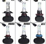 S1 8000lm H1 H3 H4 H7 H11 9005가 차에 의하여 9006의 LED 헤드라이트 전구 점화한다