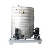 Refrigerador de refrigeração água do parafuso com o tanque de água dos Ss