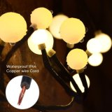 72の球根が付いている適用範囲が広い藤LEDストリングライトは銅線の地球の豆電球を防水する