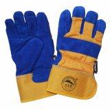 Kuh-aufgeteiltes Leder-Sicherheits-schützender Winter-warme Handschuhe für das Arbeiten