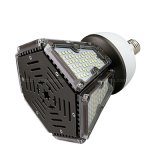 Diseño en forma de pirámide 50W 330 grados del ángulo del haz puesto LED Bombilla de luz superior