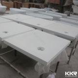 Künstliche Steinfeste Oberflächenbadezimmer-Dusche-acrylsauerunterseite