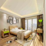 Conjunto de dormitorio modificado para requisitos particulares asunto económico del proyecto del hotel con el estante de equipaje
