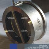 Espigão de aço fundido da válvula de retenção de placa dupla