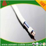 BVVBのBlvvbのタイプ300/500V 3/2のコアPVC絶縁体PVCによっておおわれるPVC平らな電線