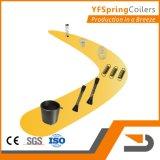 YFSpring Coilers C435 - четыре оси диаметр провода 1,20 - 3,50 мм - пружины с ЧПУ станок