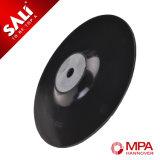 Almofada plástica do revestimento protetor do disco de Velcro do moedor de ângulo para o polonês de madeira