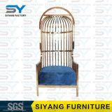Silla moderna del ocio de la silla de los muebles del hotel de la silla de acero del banquete