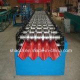Gewölbte galvanisierte Dach-Blatt-Hochgeschwindigkeitsrolle, die Maschine bildet