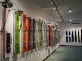 Thermostatischer Hahn-gesetzte Wasser-Massage-Dusche-Wand-Spalte