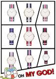 Form-Armbanduhr-Marken-Uhr-Quarz-Uhr-Dame-Uhren (DC-361)