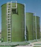 3*1400m3 UasbリアクターBiogasのプラント