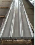 Metal de Ibr que telha a chapa de aço com a folha revestida do telhado da cor de PPGI/Trapezoidal