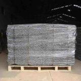 Acoplamiento revestido galvanizada y del PVC Gabion del rectángulo de alambre (fábrica)