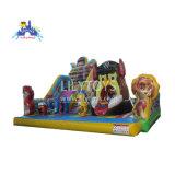 Bouncer gonflable Amusement Park Kids Club Cartoon prix d'usine Funcity