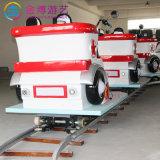 Nuevo diseño de motocicletas Jinbo paseos eléctrico vía tren para los niños